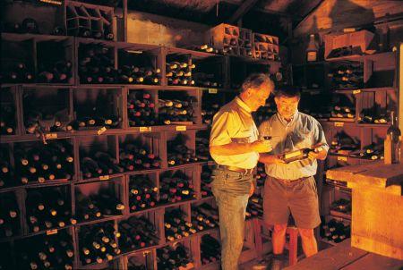 Men in Cellar