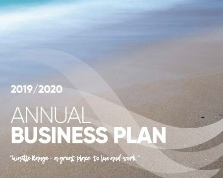 Annual Business Plan Cover