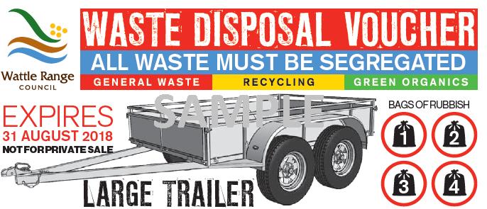 Waste Disposal Voucher Single