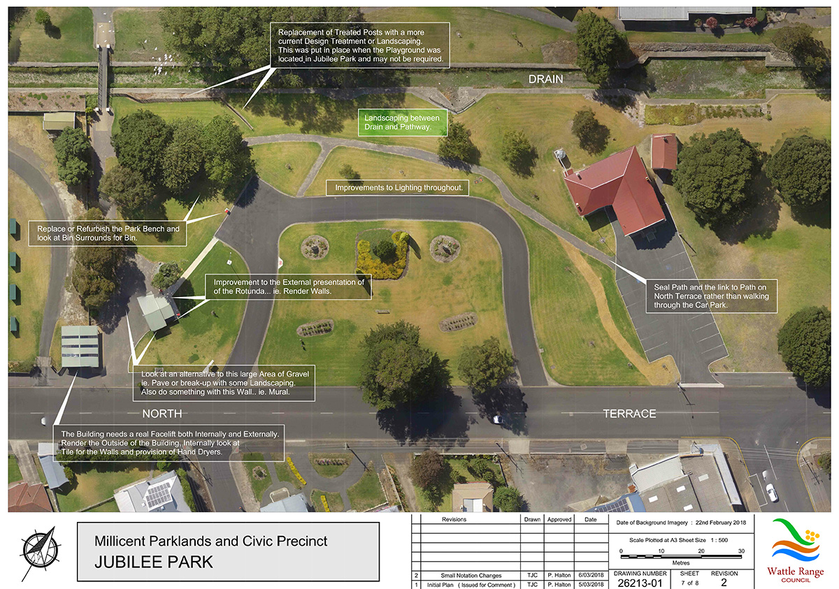 Millicent Parklands and Civic Precinct Master Plan Sheet7