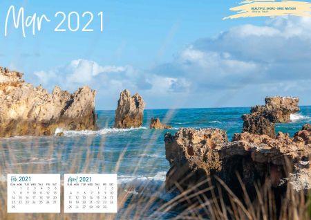 WRC Community Calendar 2021 March Spread Page 1