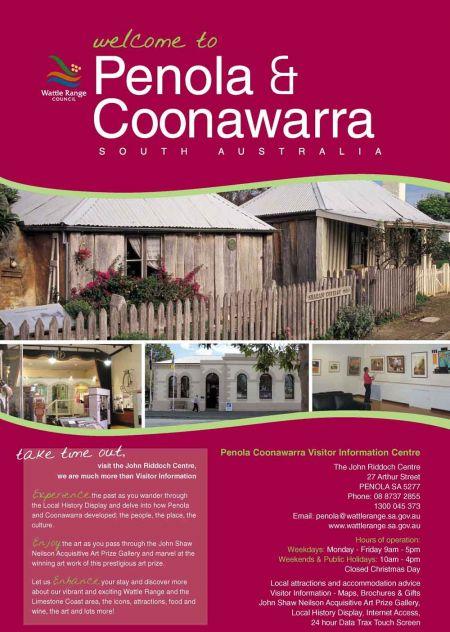 Penola Coonawarra Map