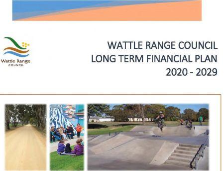 Long Term Financial Plan Coversheet
