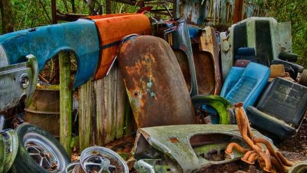 Rubbish Car Parts, Untidy Premises, Vehicle Bodies