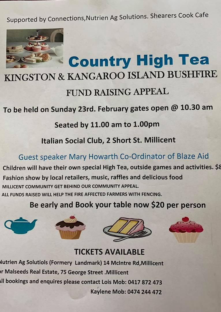 High Tea Fundraiser