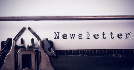 Typewriter; Community Newsletter; Adobe Stock