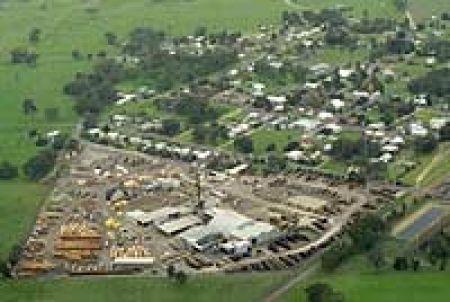 Aerial shot of Kalangadoo