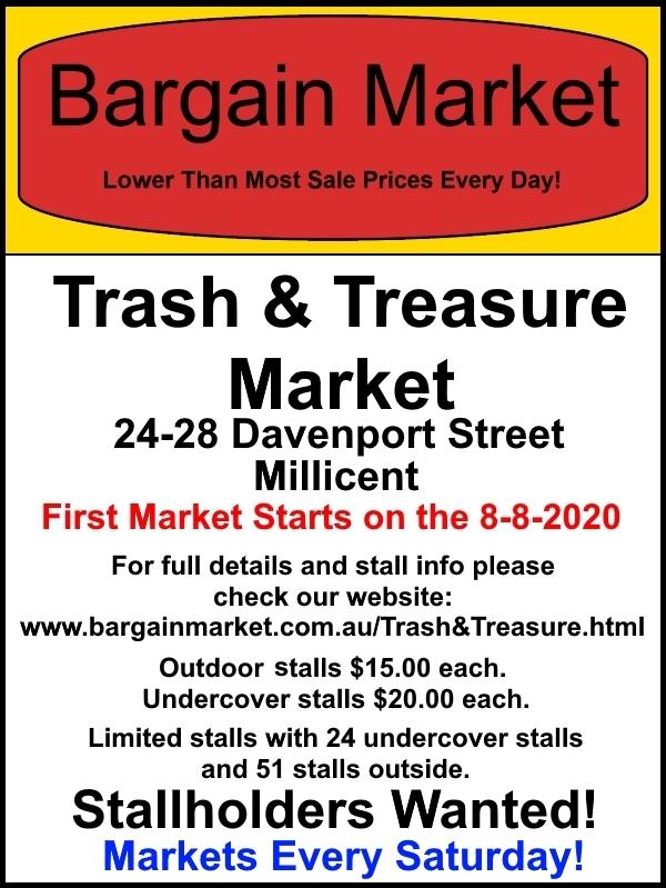 Bargain Market Trash Treasure