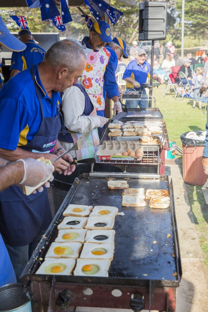 Breakfast BBQ Beachport Australia Day