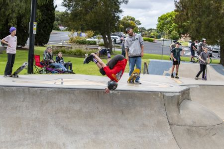 Millicent Skate Park ; Squid