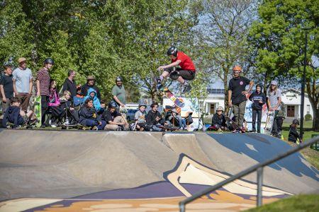 Millicent Skate Park; Squid