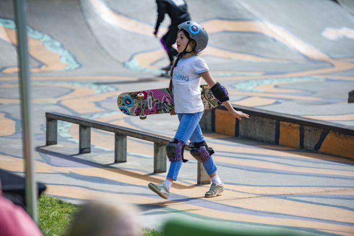 Millicent Skate Park; Chicks on Wheels