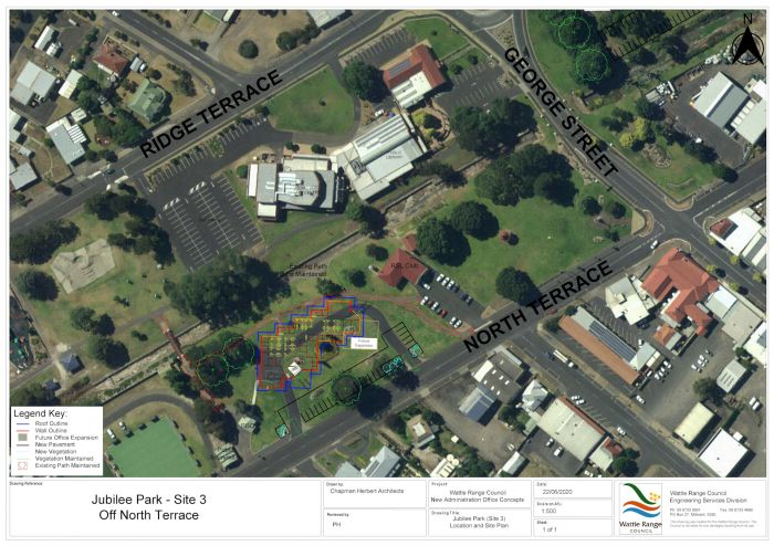Proposed Council Office Site