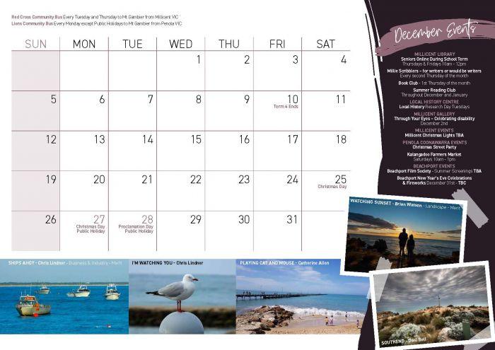 WRC Community Calendar 2021