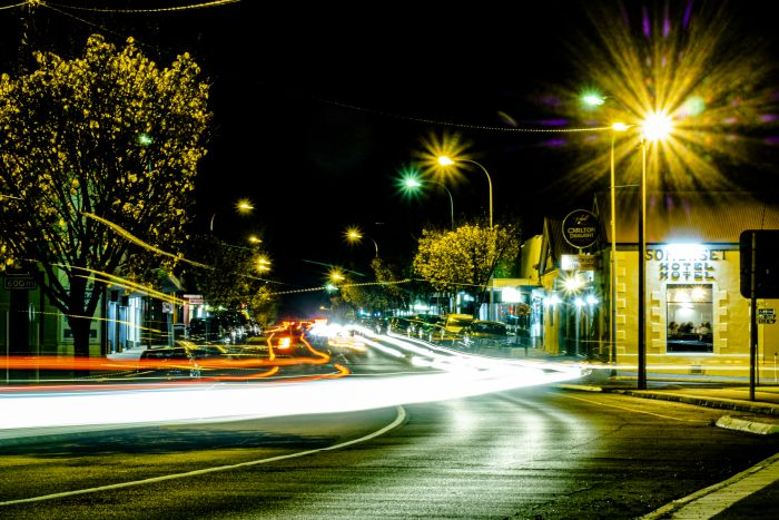 Night Millicent George Street