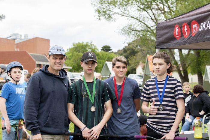 Millicent Skate Park Winners